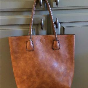 Handbags - Cognac Tote Bag